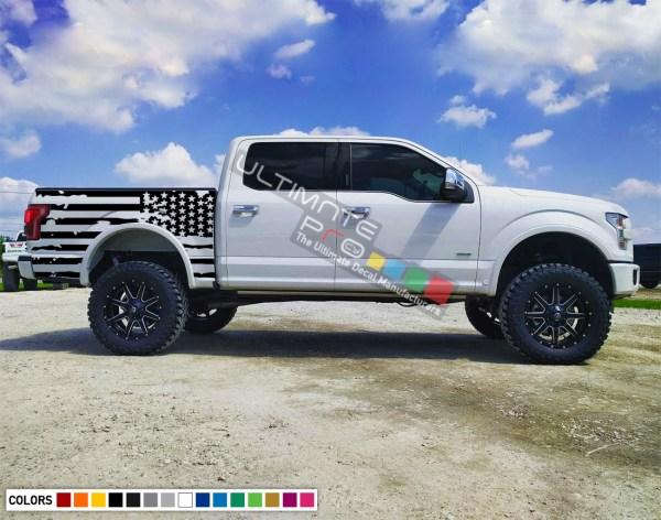 Decal Sticker Racing Stripes Body Kit Destorder Flag