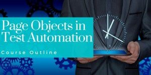 page object pattern course outline