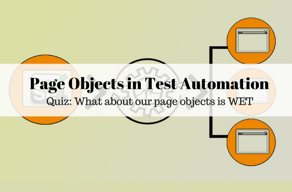 Selenium Tutorial – Page Objects in Test Automation – Quiz: What about our page objects is WET