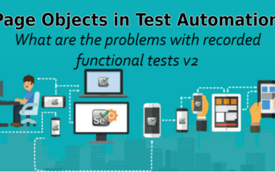 Selenium Tutorial – Page Objects in Test Automation – What are the problems with recorded functional tests