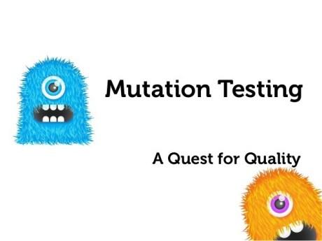 mutation testing frameworks to learn selenium webdriver