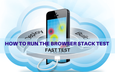 Selenium Tutorial – Fast Tests Execution – How to run the browser stack test
