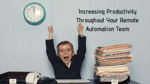 here's how to increase productivity through your automation team
