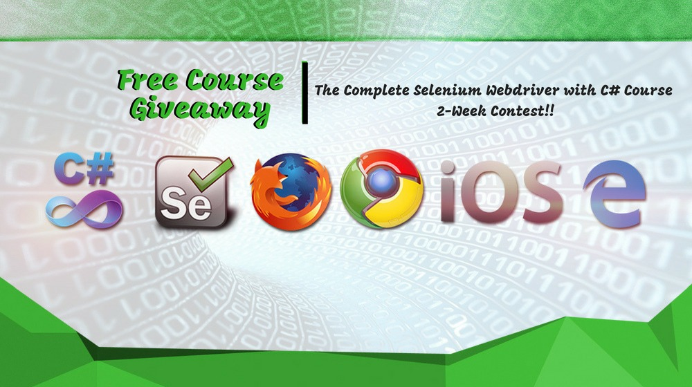 Win Your Copy of The Complete Selenium WebDriver with C# Course
