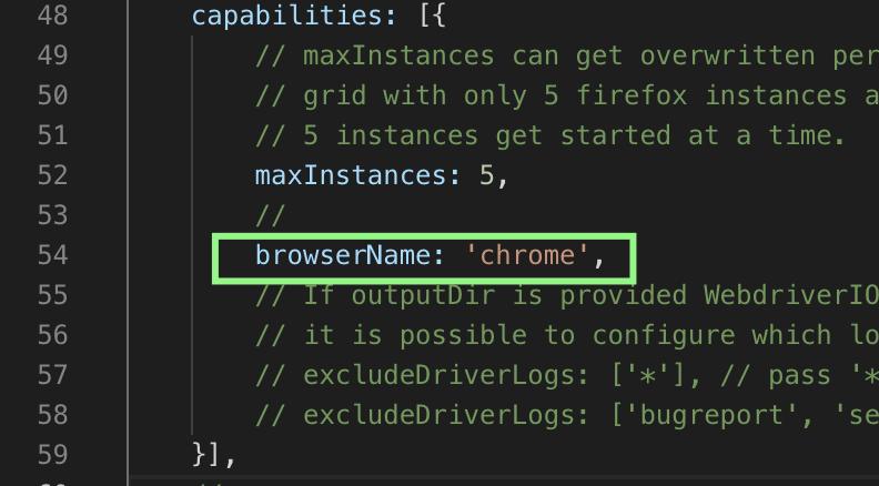 chrome browser cap