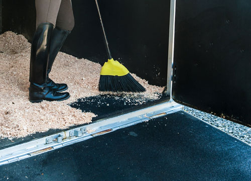 Rubber equine flooring  mats rolled rubber for trailers