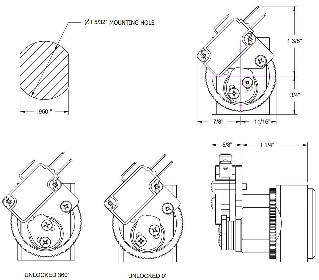 Small Format Interchangeable Core lock, Alternative of