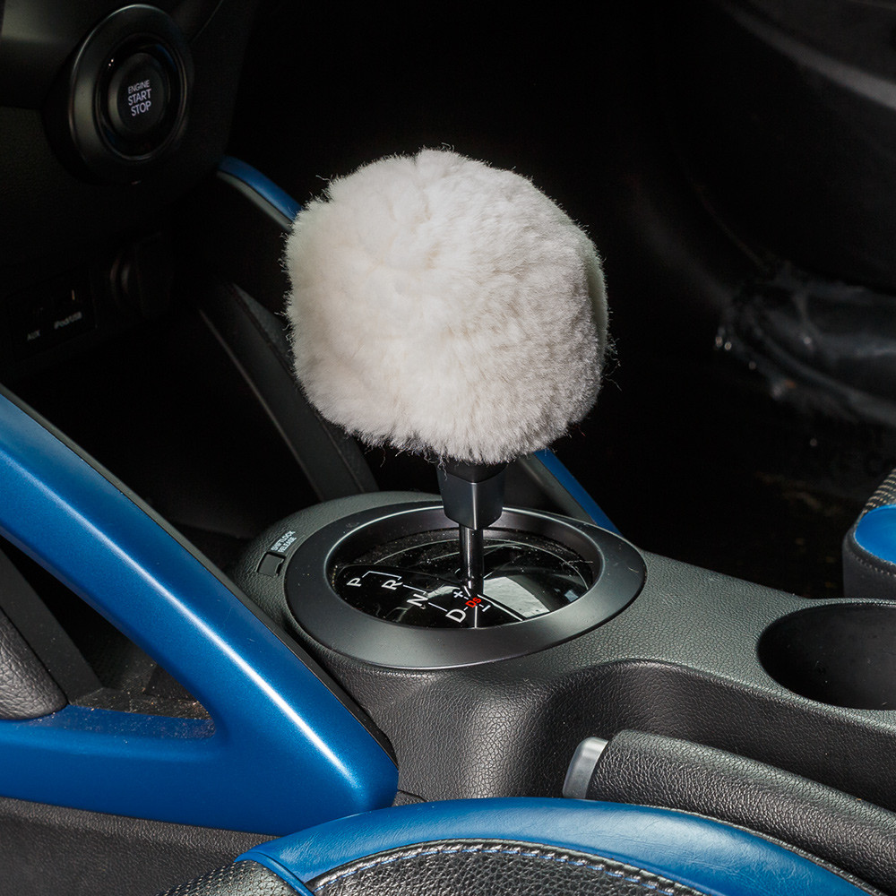 baby blue chair covers kochs barber sheepskin gear shift knob cover – ultimate