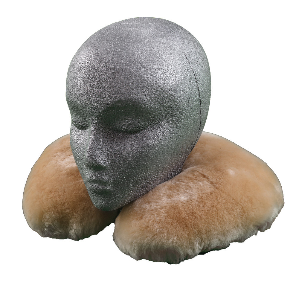 Sheepskin Adult Travel Pillow  Ultimate Sheepskin