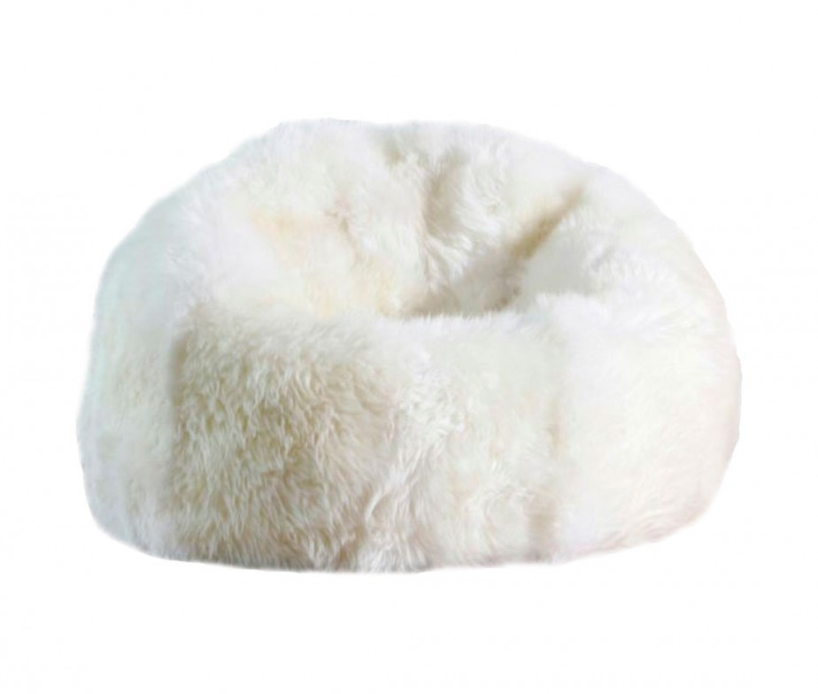 western chair pads push button recliner chairs sheepskin bean bag designer colors large 3′ unfilled | ultimate
