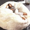 Sheepskin bean bag chairs jumbo