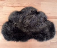 Real Sheepskin Rugs Seattle Clouds White Puffy or Dark ...