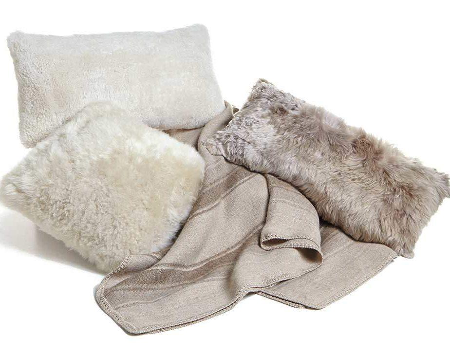 Sheepskin Pillows 22 Australian Shearling Short Wool