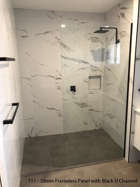 Frameless Panels  Ultimate Shower Screen