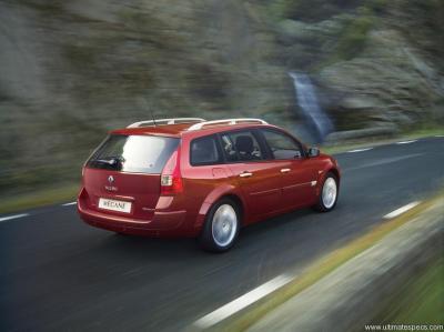 Renault Megane 2 Phase 2 Break Sport Tourer 1 5 Dci 105hp Dynamique Eco2 Technical Specs Dimensions