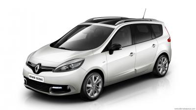 Renault Grand Scenic 3 Phase 3 Bose Edition Dci 110 Edc 7 Seats Technical Specs Dimensions