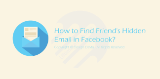 How to Find Friends Hidden Email in Facebook?