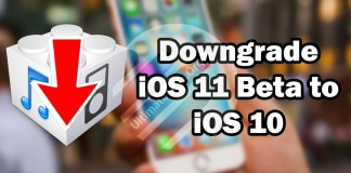 How to Unistall iOS 11 Beta update and restore iOS 10