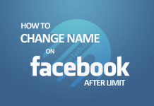 How to Change Facebook Name After Limit?