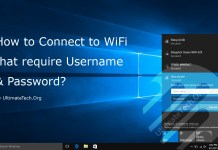 How to Connect to WiFi that require Username & Password?