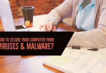 How to Secure your Computer from Malware or Virus?