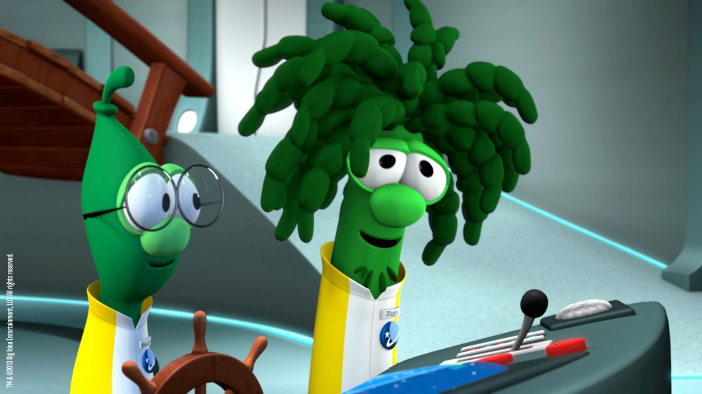 The Ultimate VeggieTales Web Site New Screen Shots From