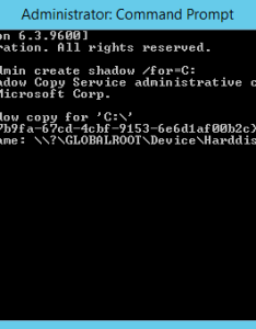 Using the  cshadow copy volume name   we need to extract ntds dit  ccopy shadowcopyvolumenamehere windows  files note that you must use also blog rh ultimatewindowssecurity