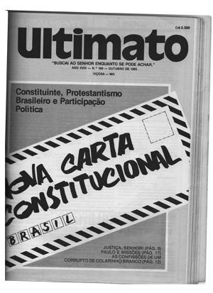 Revista Ultimato - edição de 1985