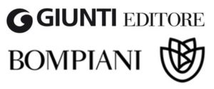 Il logo di Bompiani-Giunti. Mondadori ha raggiunto un accordo per la cessione del ramo d'azienda relativo alla casa editrice Bompiani a Giunti Editore. ANSA-ARCHIVIO
