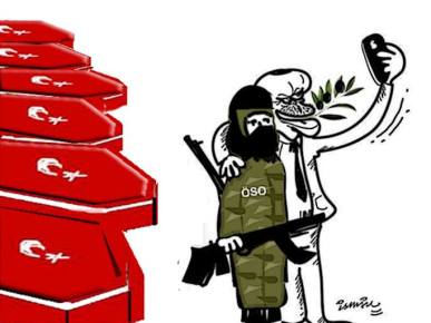 Erdogan attacca Afrin