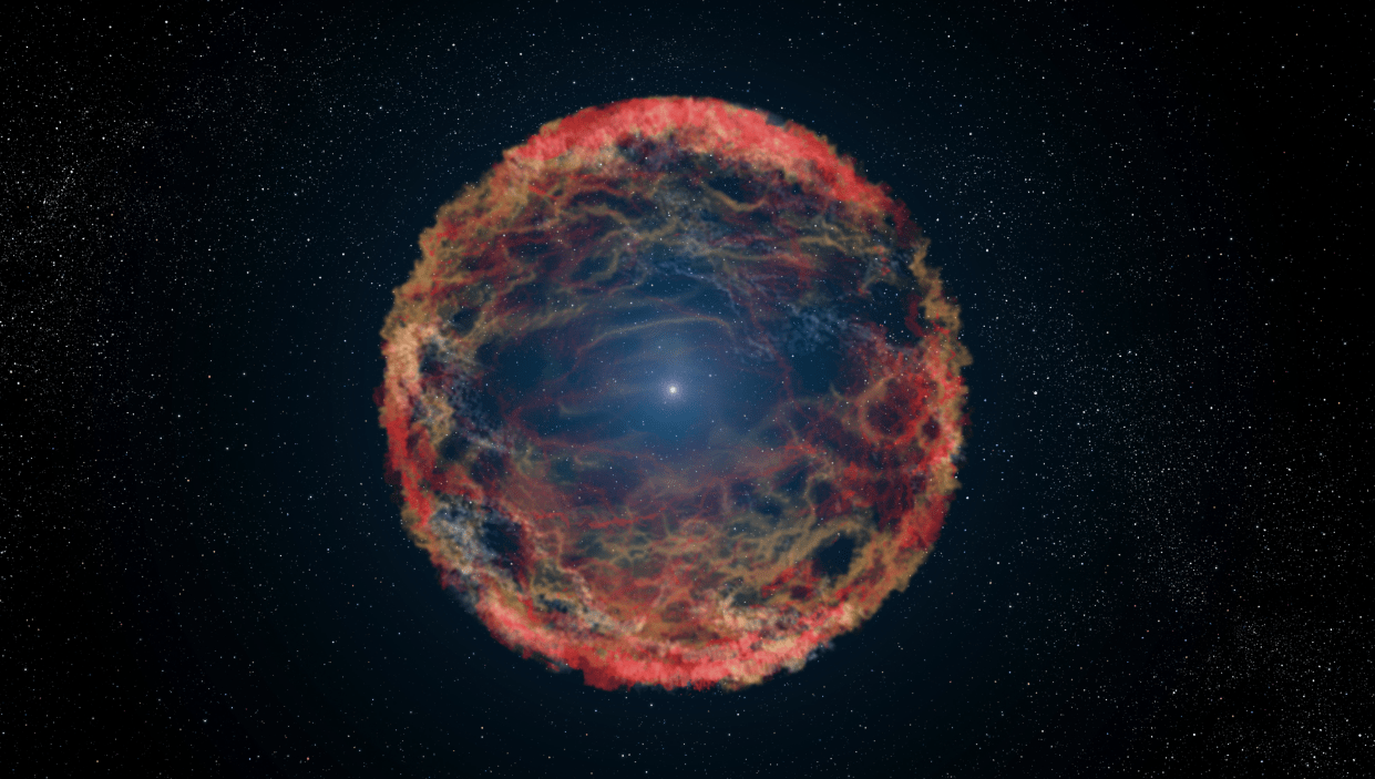 Una supernova in laboratorio: supernova