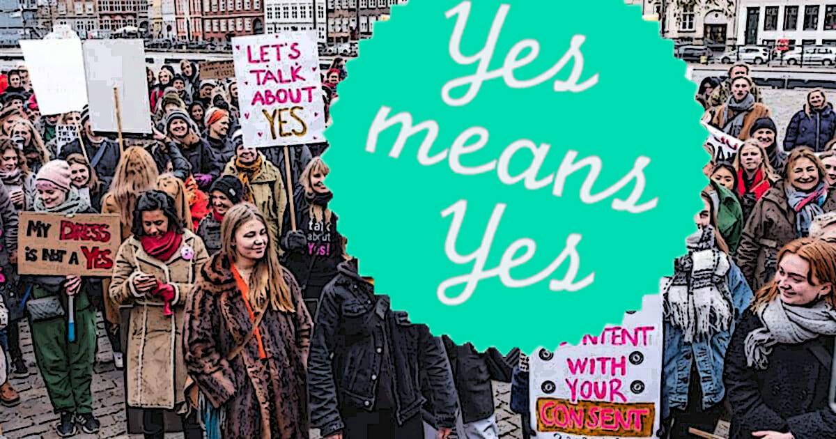 senza consenso è stupro legge Danimarca