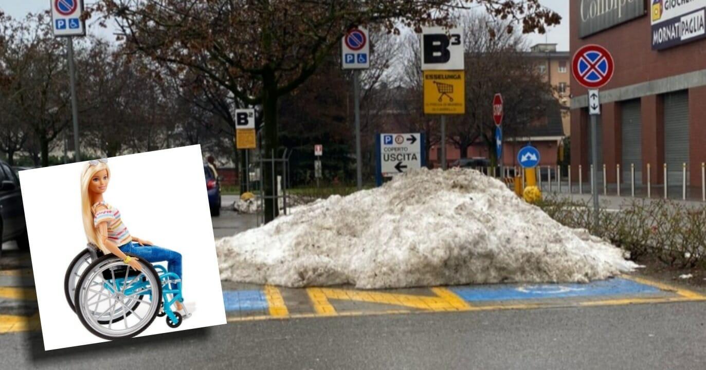 parcheggio per disabili UV