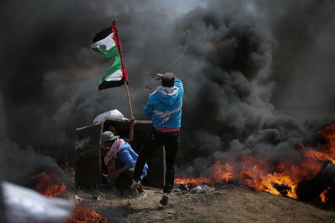 Palestina assedio in Palestina