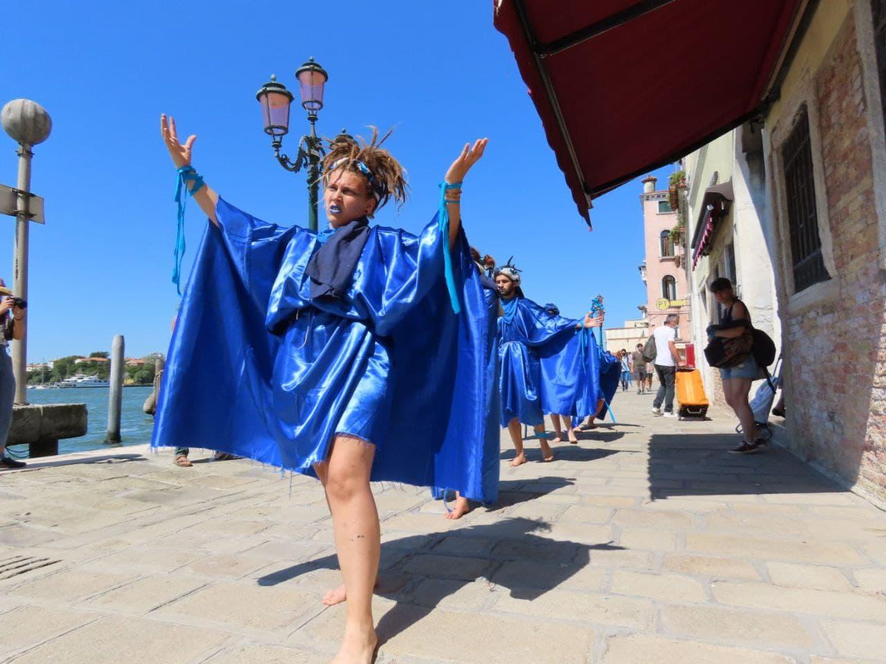 G20 Venezia - performance Zattere