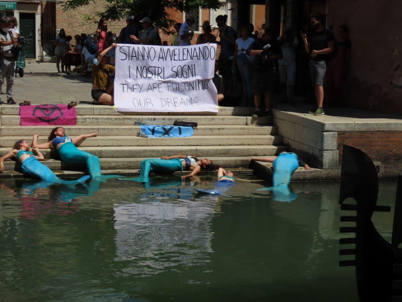 G20 Venezia - performance sirene