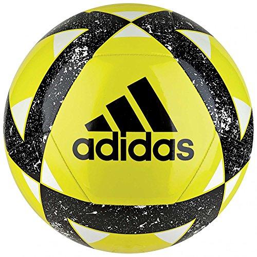 adidas Starlancer V Pallone da Calcio Uomo Uomo CW5344 GialloNeroBianco amasho 5