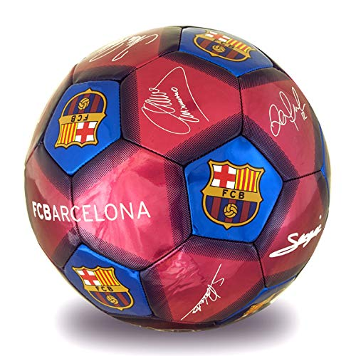 Pallone da calcio grande FC Barcelona TAGLIA UNICA