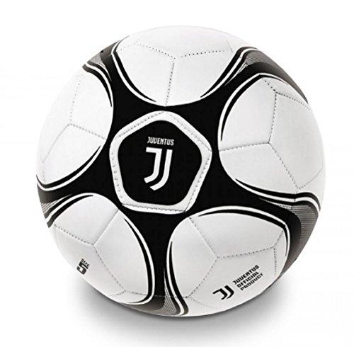 Pallone da Calcio Juventus FC Misura 5 PS 04524 Logo Nuovo JJ Palloni In Cuoio