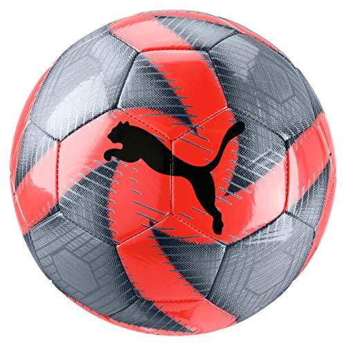 PUMA Future Flare Ball Pallone da Calcio Unisex Adulto Grey DawnNrgy RedAsphalt White 5