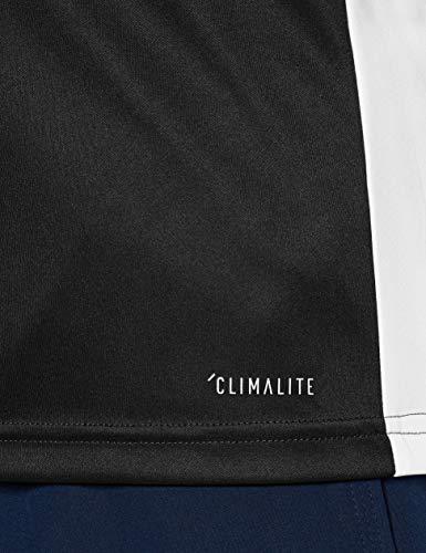 adidas Entrada18 Maglietta Uomo NeroBianco L