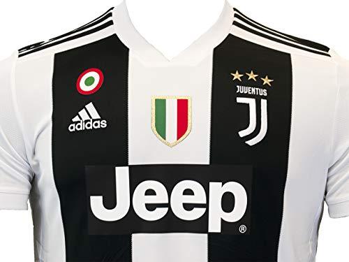 adidas Juve H JSY Maglia Gara Home 20182019 Cristiano Ronaldo Uomo Bianco BiancoNero L