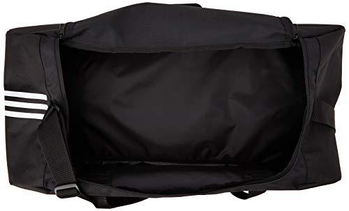 adidas Tiro Duffel Large  Borsone Nero NegroBlanco 66 cm x 345 cm x 32 cm