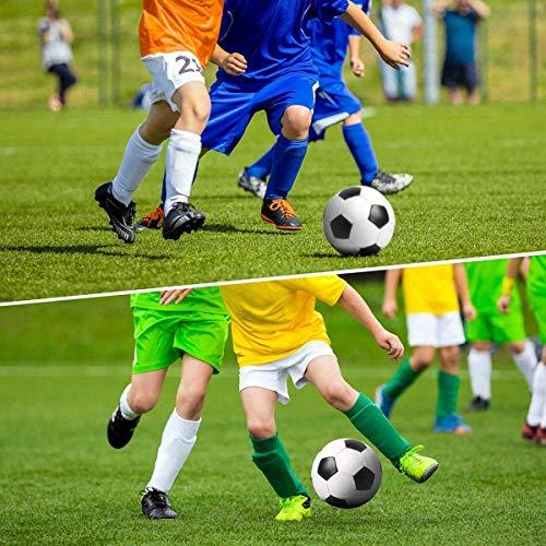 ASEOK  Parastinchi da calcio per bambini 1 paio leggeri e traspiranti attrezzatura protettiva per polpaccio per bambini da 6 a 12 anni per ragazzi ragazze bambini adolescenti