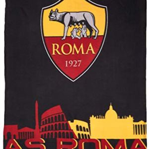AS Roma Plaid in Pile 100 Poliestere One Size