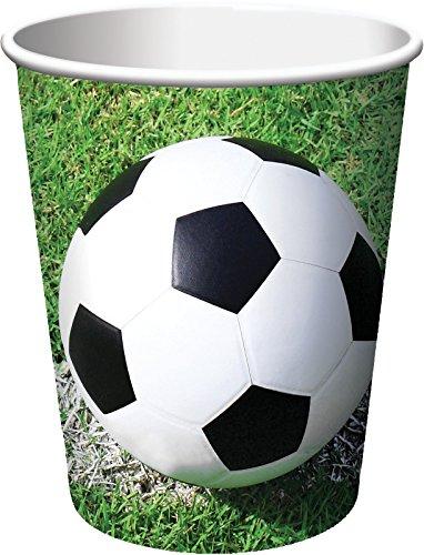Bicchiere carta 266 ml Calcio Fanatic Soccer