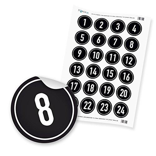 Calendario dell avvento make your DIY calcioCalendario dell avvento da riempireCamicia verde uomo nero nero