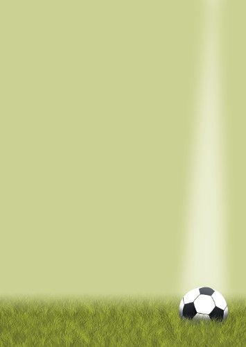 Cancelleria Sport Calcio DIN A490GM di carta di design 50 Blatt