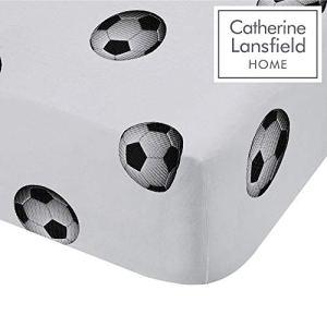 Catherine Lansfield Football Rich Lenzuolo Singolo PoliestereCotone Multicolore 190x 90x 04cm