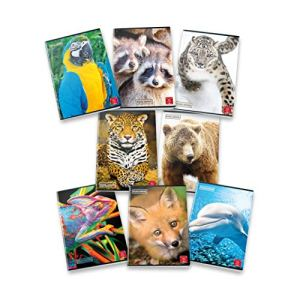 Conf 10 pz Maxi Quaderni A4 ANIMAL 02302830B